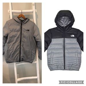 The Northface reversible water resistant puffer L